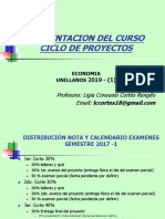 1º Presentacin, Ciclo, Plan