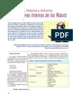 Lección Nº 7 - Los Sensores Internos de Los Robots