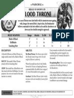 AoS Herald of Khorne on Blood Throne En