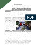 Los Ecosistemas y Ciclos Biogeoquimicos