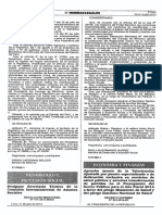 R.M. N° 171-2014-MIDIS - Por Puesto Especializado o de Dedicación Exclusiva en Servicios de Salud Pública