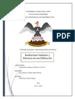 Ejemplo Del Diseño de Instalaciones Sanitarias y Electricas Para Una Edificación