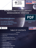 Pioneer Library Management System