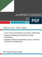 Intro to Juniper Series