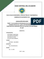 Ley de Ejercicio Profesional de La Ingenieria Civil