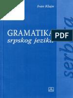 Klajn gramatika srpskog jezika za strance.pdf