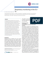 Respiratory Monitoring in the Icu
