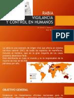 RABIA Vigilancia y Control Por Dr. David Osorio