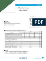 Diode Datasheet 1N series