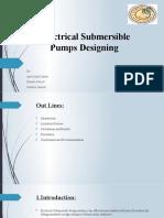 Electrical Submersible Pumps Designing