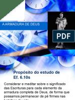 ARMADURA DE DEUS PARA LIBERTAÇÃO