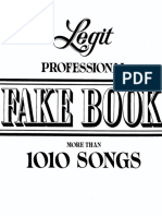 Richard Wolfe's Legit Professional Fake Book (Big 3 Music Co