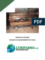 Manual de Usuario Tanques de Almacenamiento