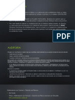 Certificación- Auditoria - Software (Magerit)