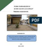 MEMORIA  TOPOGRAFICA  CENTRO DE SALUD LAS LOMAS.docx