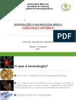 Aula 1_Introdução à Imunologia