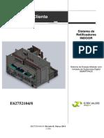 Manual E62752104 8 B-91 Fonte ELTEK Flatpack2 SR200A-48V