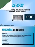 Apres CE6710 Mala de Testes Universal Para Protecao Automacao Controle e Medicao