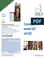 7q Deletions Between 7q21 and 7q32 FTNP