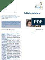 7q32q34 Deletions FTNP