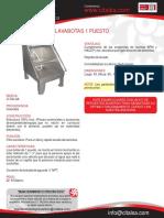 Lavabotas 1 Puesto Ci Talsa [09401112] (1)
