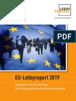 EU-Lobbyreport 2019