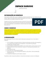 Webpack Notas Estudo