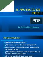 El Proyecto de Tesis