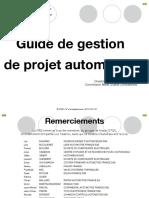 Guide de Gestion de Projet Automobile Janvier 2011
