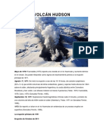 Actividad Volcanica Zona Austral