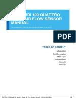 ID233790f3a-1994 audi 100 quattro mass air flow sensor manual