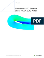 CFD External Flow Validation for Airfoil