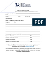 Entry Forms 1