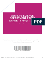 ID2bde6fa4a-2013 life science department paper grade 11 first term