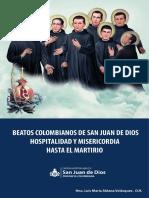Libro Beatos Colombianos de la Orden Hospitalaria de San Juan de Dios