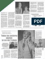 Edgard Romero Nava - Invitados Bohemia - Todos Los Sectores Objetan La Ley Del Trabajo - Revista Bohemia 1989