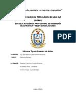 Informe de Tipos de Redes de Datos