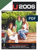 2007 Demre 26 Recomendaciones Rendicion Psu