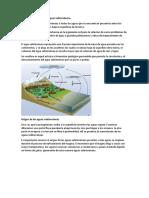 Acción Geológica de Las Aguas Subterráneas