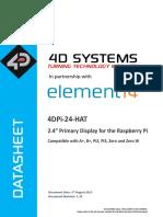 4DPi-24-HAT Datasheet R 1 10