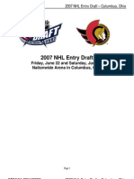 2007 Senators Draft