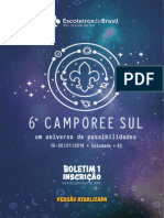6º Camporee Sul Boletim 1