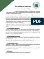 Examen Final - Investigación de Mercados .