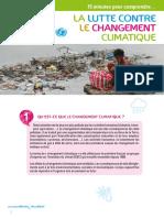 Fiche Thematique Changement Climatique 0