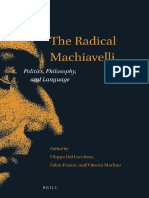 [Thinking in Extremes] Filippo Del Lucchese, Fabio Frosini, Vittorio Morfino - The Radical Machiavelli_ Politics, Philosophy, and Language (2015, Brill).pdf
