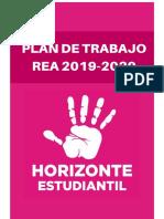 PLAN DE TRABAJO REA 2019-2020 HORIZONTE ESTUDIANTIL