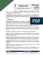 Procedimiento Matriz de Requisitos Legales