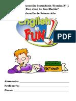 Cuadernillo De Inglés 1º Año - EESTNº1.pdf