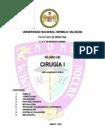Silab0 Cirugia I 2018