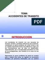 Accidentes de Transito- Gonzales